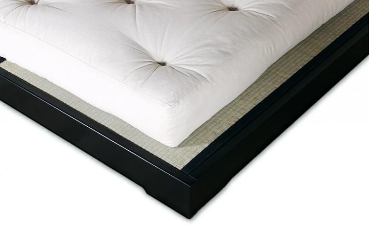 betten set tatami2 180x200 cm inkl rolllattenrost 2 tatami und futon cotton comfort. Black Bedroom Furniture Sets. Home Design Ideas
