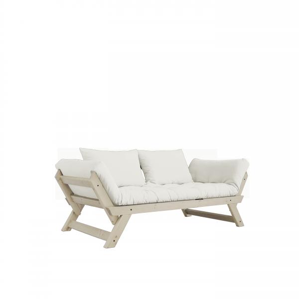 BEBOP Schlafsofa, Kiefer massiv; inkl. Futon & Kissen