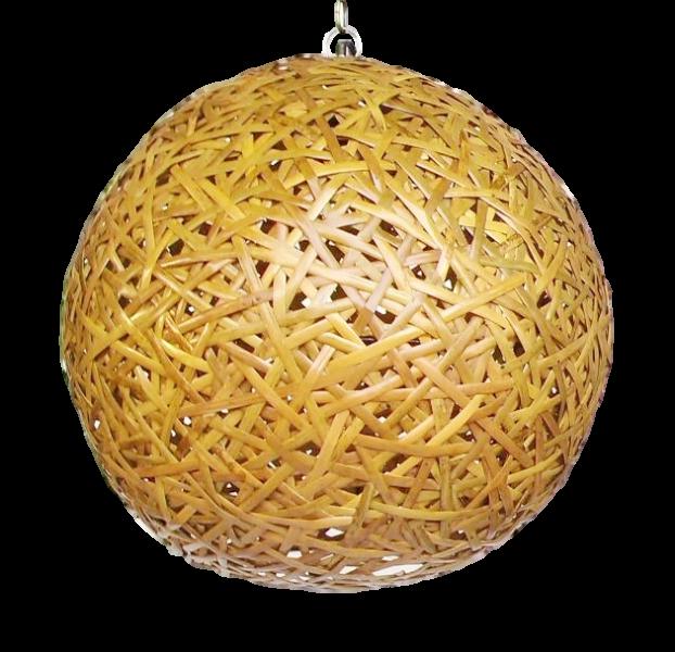 Bambus Hangeleuchte Ballo 60 Cm Leuchten Raum Art Jo Ko Futon