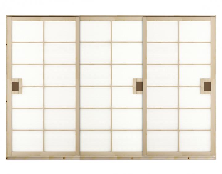 Kleiderschrank schiebetüren buche  Kleiderschrank SHOJI 300x220 cm | Jo-Ko Futon-Tatami-Shoji