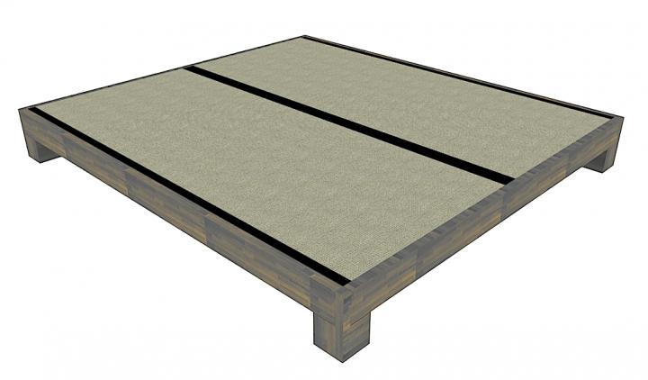 tatamibett bett tatami jo ko futon tatami shoji. Black Bedroom Furniture Sets. Home Design Ideas