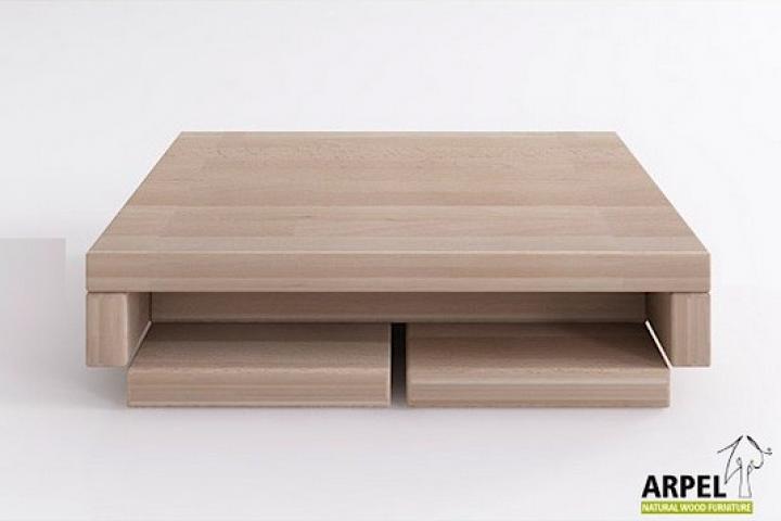 Beistelltisch AIKO, 45x35x10 cm, mit ausklappbaren Seiten