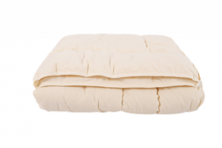 Bettdecke 140 x 220 cm, Schurwollvliesfüllung ca. 1,5 kg