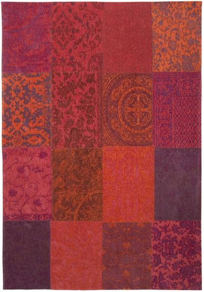 Teppich QUADRA Arancio scuro