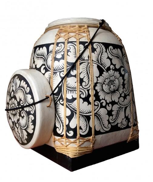 Bambus-Reiskorb 44x44x58 cm