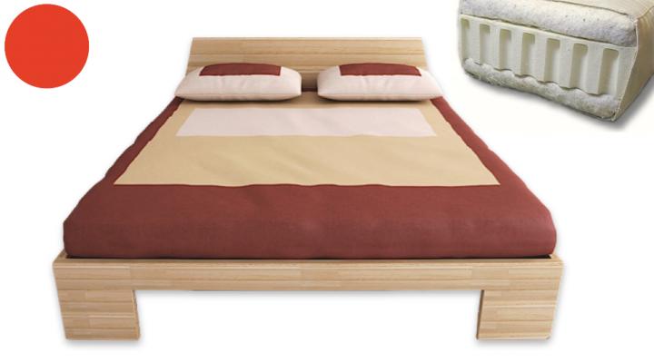 SETANGEBOT Massivholzbett ZEN inkl. Lattenrost & Futon Latex comfort